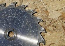 bladcirkelsåg Arkivfoton