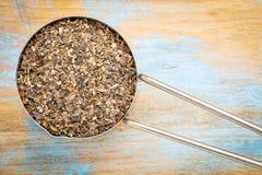 Bladderwrack seaweed in metal scoop Stock Photos