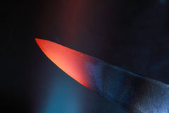 Blade In Flame Royalty Free Stock Photo