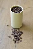 A blade or propeller coffee grinder. Stock Photography