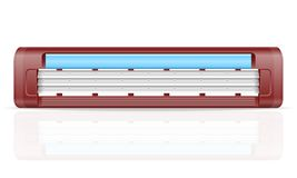 Blade for razer stock vector illustration Royalty Free Stock Photo