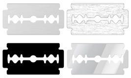 Blade razor. Set on white background royalty free illustration