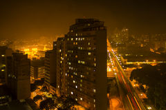 Blade Runner-gevoel Royalty-vrije Stock Fotografie
