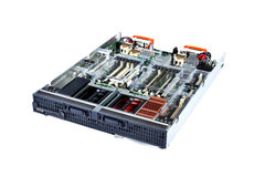 Blade server 02 Royalty Free Stock Photo