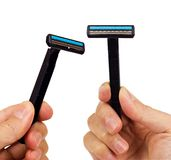 Blade shavers Royalty Free Stock Images
