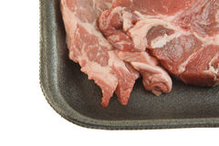 Blade steak closeup Royalty Free Stock Images