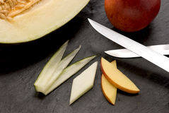 Free Blade With Fruits Royalty Free Stock Images - 15420419