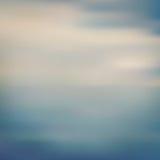 Bladego pyłu morza zamazany tło royalty ilustracja