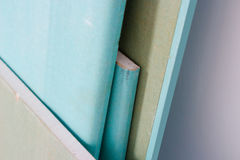 Bladen van drywall Stock Afbeelding