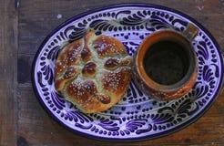 Bladerdeeg traditioneel Mexicaans voedsel stock afbeelding