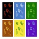 Bladeren Royalty-vrije Stock Afbeeldingen