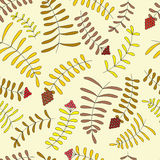Bladeren en bessen Stock Fotografie