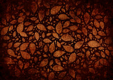 Bladeren Gevallen in Autumn Abstract Grunge Background stock illustratie