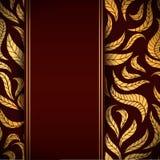 Bladeren naadloos patroon Royalty-vrije Stock Foto