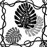 Bladeren van de wildernis Stock Afbeelding