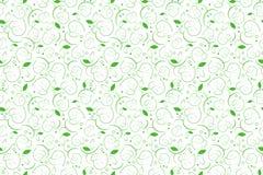 Bladerentextuur voor textiel Bloemen naadloze achtergrond Stock Fotografie