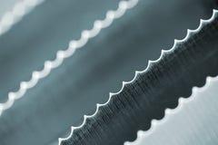 Blades (1). Knife blades. Background Stock Photo