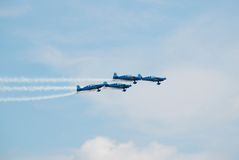 The Blades aerobatic display team Stock Photo