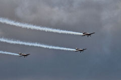 The Blades Aerobatic Display Team Royalty Free Stock Images