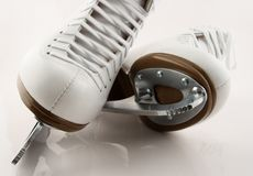 Blades of figure skates stock photo