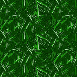 Seamless pattern of green mown grass. The pattern of blades of grass royalty free illustration