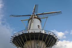 The blades of the mill. Blades rubella, chicken old mill town in the Netherlands Stock Photo