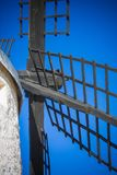 Blades of spanish windmill, bottom view stock photo