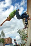blading κύλινδρος αγοριών Στοκ φωτογραφίες με δικαίωμα ελεύθερης χρήσης