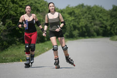 Blading Royalty Free Stock Photography