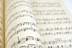 Bladmuziek Stock Foto's