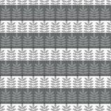 Bladpatroon op een strook Royalty-vrije Stock Afbeelding
