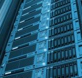Bladserie van de gegevensverwerking en de opslag van de centrale verwerkingseenheidsverwerking royalty-vrije stock afbeelding