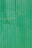 Bladstaal groene muur Stock Foto