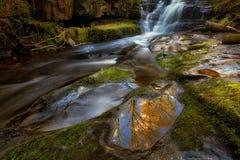 Blaen y Glyn Waterfall Royalty-vrije Stock Afbeeldingen