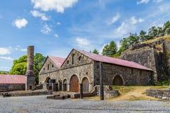 Blaenavon-Eisengießereien in Wales, Großbritannien Stockfotografie