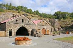Blaenavon Ironworks. Derelict ironworks at Blaenavon, Wales Royalty Free Stock Photography