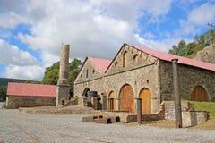 Blaenavon Ironworks. Derelict ironworks at Blaenavon, Wales Royalty Free Stock Photos