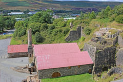 Blaenavon Ironworks Royalty Free Stock Photo