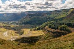 Blaenrhondda, Mid Glamorgan, Galles, Regno Unito fotografie stock