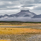 Blafell volcanic mountain, Iceland Stock Photography