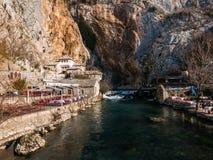 Blagaj, Bosnien und Herzegowina Lizenzfreies Stockbild