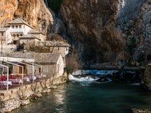 Blagaj, Bosnien und Herzegowina Lizenzfreie Stockbilder