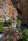 Blagaj dervish house - Bosnia and Herzegovina Royalty Free Stock Images