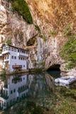 Blagaj dervish house - Bosnia and Herzegovina Stock Photography