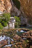 Blagaj dervish house - Bosnia and Herzegovina Stock Photos
