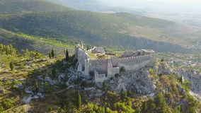 Blagaj - fortaleza Foto de Stock Royalty Free