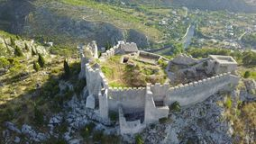Blagaj - fortaleza Imagem de Stock Royalty Free