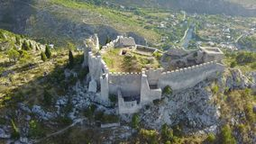 Blagaj - fortaleza Imagenes de archivo