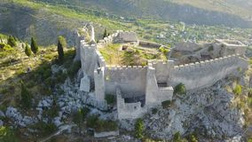 Blagaj - Fortress. The old town Blagaj, also known as Bona or Stjepan-city, is a fortress in the area of Blagaj Mostar, Bosnia and Herzegovina. It is located on Stock Image