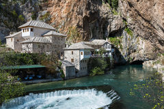 The Blagaj Tekke in Bosnia and Herzegovina Stock Photography